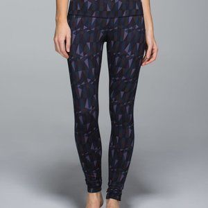 Lululemon Wunder Under Stained Glass Pants, 6